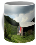 Barn In The Usa Coffee Mug by Karen Wiles