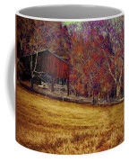 Barn In The Woods-featured In Barns Big And Small Group Coffee Mug
