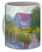 Barn In Vineyard Coffee Mug