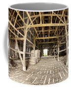 Barn Interior Coffee Mug