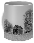 Barn On A Hill In Iowa Coffee Mug