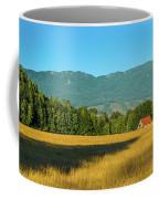 Barn On Cascade Road In Rockport Coffee Mug