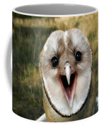 Barn Owl Tyto Alba Coffee Mug