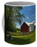 Barn Painting Coffee Mug