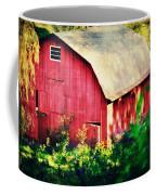 Barn Red Sunset Coffee Mug