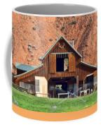 Barn Ten Sleep Wyoming Coffee Mug