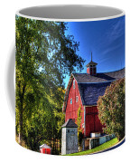 Barn With Out-sheds Brunner Family Farm Coffee Mug