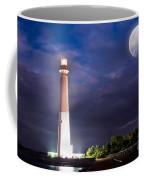 Barnegat Lighthouse Super Moon Coffee Mug