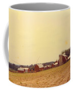 Barns And Landscape Coffee Mug