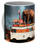 Barnum And Baileys Fabulous Road Trip Vacation Across The Usa Circa 2013 5d22705 With Text Coffee Mug