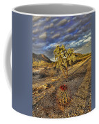 Barrel And Cholla Coffee Mug