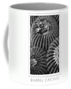 Barrel Cactus Poster Coffee Mug