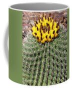 Barrel Cactus With Yellow Fruit Coffee Mug
