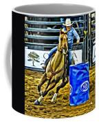 Barreling Buckskin Coffee Mug
