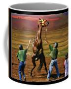 Barrington Harvey Looks On Horse Peekarandoconer Moment Coffee Mug