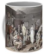 Barroom Dancing, C1820 Coffee Mug