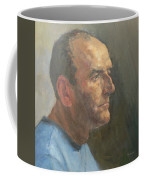 Barry, 2008 Oil On Canvas Coffee Mug