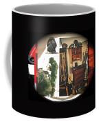 Barry Sadler And Part Of His Weapon's  Nazi Memorabilia Collection Collage Tucson Arizona 1971-2013 Coffee Mug