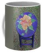 Barstool Hibiscus Coffee Mug