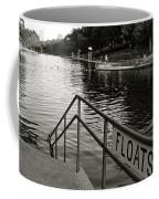 Barton Springs Pool In Austin Coffee Mug