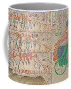 Bas-relief At Medynet-abou, Palace Coffee Mug