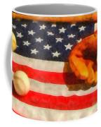 Baseball An American Pastime Coffee Mug