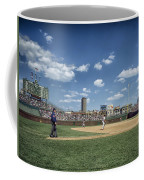Baseball At Wrigley Field In The 1990s Coffee Mug