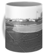 Baseball At Yankee Stadium Coffee Mug by Underwood Archives