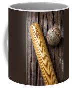 Baseball Bat And Ball Coffee Mug