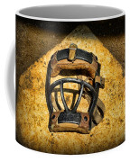 Baseball Catchers Mask Vintage  Coffee Mug by Paul Ward