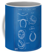 Baseball Construction Patent 2 - Blueprint Coffee Mug