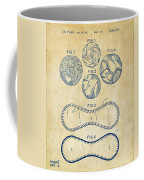 Baseball Construction Patent - Vintage Coffee Mug