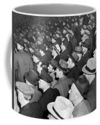 Baseball Fans At Yankee Stadium For The Third Game Of The World Coffee Mug