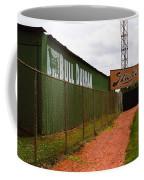 Baseball Field Bull Durham Sign Coffee Mug