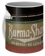 Baseball Field Burma Shave Sign Coffee Mug