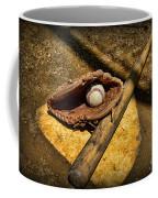 Baseball Home Plate Coffee Mug