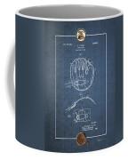 Baseball Mitt By Archibald J. Turner - Vintage Patent Blueprint Coffee Mug