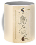 Baseball Mitt By Archibald J. Turner - Vintage Patent Document Coffee Mug