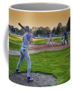 Baseball On Deck Circle Coffee Mug
