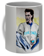 Baseball Player Coffee Mug by First Star Art