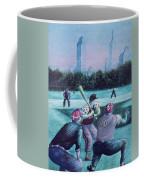 New York Central Park Baseball - Watercolor Art Coffee Mug