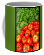 Basil Tomato Coffee Mug