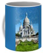 Basilica Sacred Heart- Paris Coffee Mug