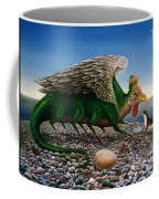 Basilisk, 1986 Oils And Tempera On Paper Coffee Mug