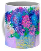 Basket Of Hydrangeas Coffee Mug