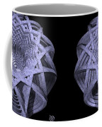 Basket Of Hyperbolae - Stereogram Coffee Mug
