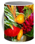 Basket Of Tropic Coffee Mug
