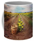 basket with Daffodils Coffee Mug