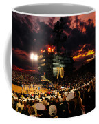 Basketball On A Carrier Coffee Mug