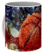Basketball Usa Coffee Mug by David G Paul
